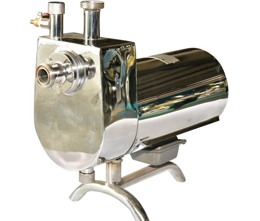 Stainless steel self-priming pump