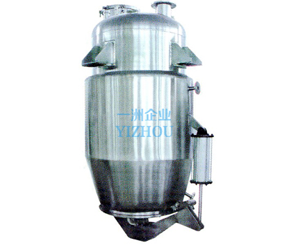 Normal taper type extracting tank