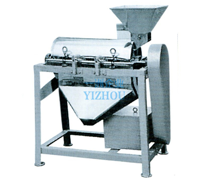 Single-channel pulping machine